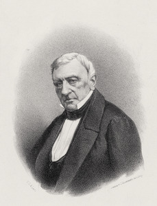 Portret van Dirk Donker Curtius (1792-1863)