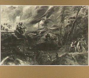 Landschap met overstroming (Jupiter en Mercurius bij Philemon en Baucis)