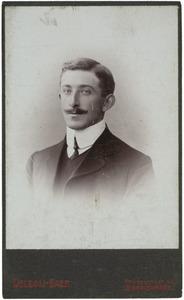 Portret van Willem Marinus Theodorus Wissink (1884-1954)
