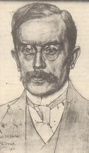 Portret van Pieter Cornelis Boutens (1870-1943)