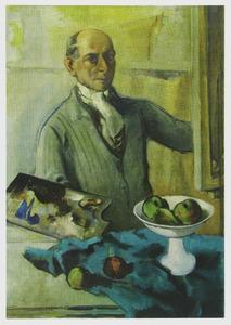 Zelfportret van Mommie Schwarz (1876-1942)