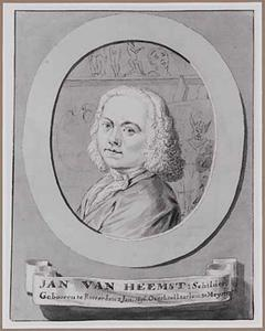 Portret van Jan van Heemst (1696-1725)