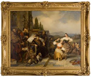 Louis XI á Plessis les Tours
