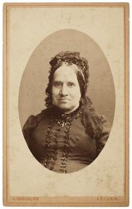 Portret van Helena Gerharda Everts (1806-1899)