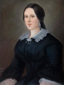 Portret van Maria Amalia van Damme (1828-1860)