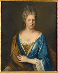 Portret van mogelijk Alida Matroos ( -1703)