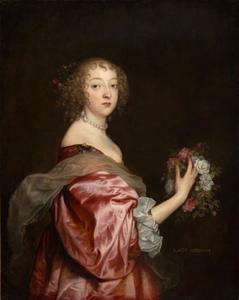 Portret van Katherine Howard, Lady d'Aubigny (?-1650)