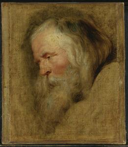 Studie van Caspar, de oudste der drie koningen
