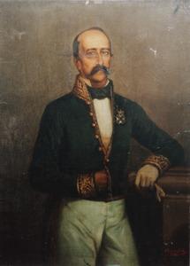 Portret van Adolphe Jean Philippe Hubert Desire Bosch (1814-1873)