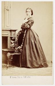 Portret van Emma Singendonck (1837-1905)