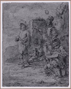 Barbiers en kwakzelvers (Suenos 1641, boek II, vierde droom)