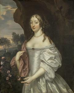 Portret van Jacoba van Orliens (1643-1691)