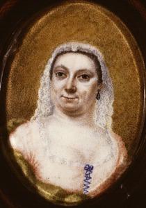 Portret van Anna Catharina de Moor (1675-1746)