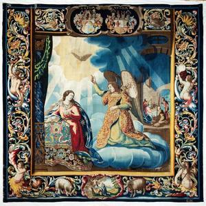 De annunciatie en geboorte van Christus