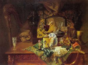 Stilleven van souvenirs uit de zestiende en zeventiende eeuw