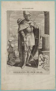 Portret van Hendrik III van Brabant (1231-1261)