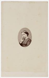 Portret van Susanna Antoinetta Cecilia van den Velden (1832-1861)