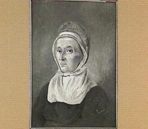 Portret van Gerardina van der Hucht (1766-1838)