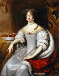 Portret van keurvorstin  Dorothea von Brandenburg, born von Schleswig-Holstein-Sonderburg-Glücksburg (1636–1689)