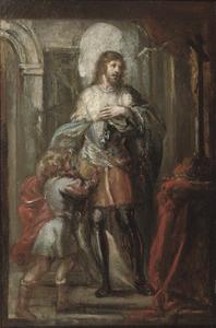De H.Lodewijk als kruisvaarder