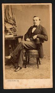 Portret van Johannes Willem Philippus Feith (1829-1917)
