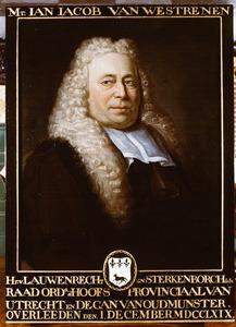 Portret van Jan Jacob van Westrenen (1685-1769)