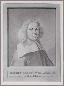 Portret van Gerrit Adriaensz. Berckheyde (1638-1698)