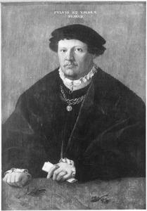 Portret van een man, op de leeftijd van 31 jaar