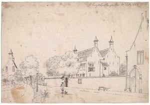 Het huis Soestbergen bij Utrecht in 1753