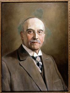 Portret van Rudolphe Theodore Muschart (1873-1955)