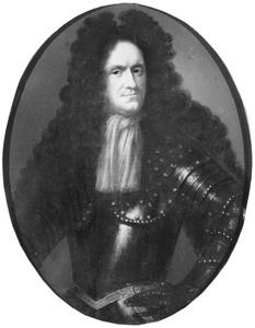 Portret van Timan Johan van Lintelo (1638-1685)