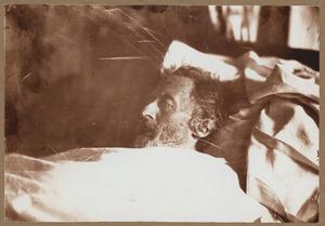 Doodsportret van Ary Scheffer