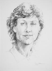 Portret van Andree Christine van Es (1953- )