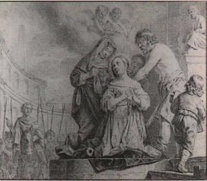 Het martelaarschap van de H. Catharina van Alexandrië