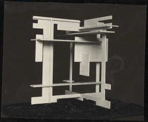 Maquette pour un monument public