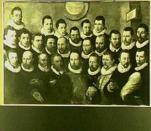 Vijfentwintig Amsterdamse schutters van Rot A, Amsterdam