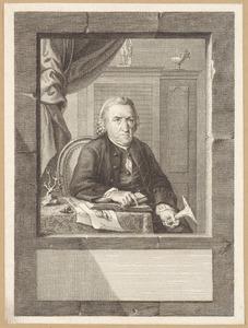 Portret van Joan Coenraad Brandt (1703-1791)
