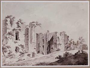 Ruïne van kasteel Brederode