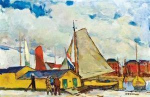 Jachthaven te Dordrecht