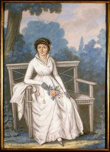 Portret van Anna Maria de Ruuk (1766-1833)