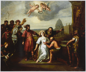 De H. Barbara door haar eigen vader onthoofd