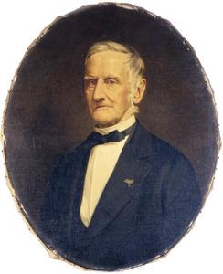 Portret van Adriaan van der Goes (1808-1885)