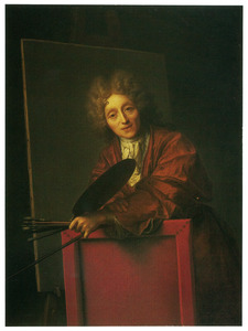 'Zelfportret' van Jean-Baptiste Santerre