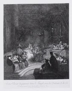 Jesus Christ disputant dans le Temple avec les Docteurs de la loi
