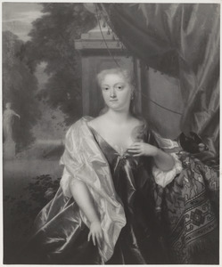 Portret van Elisabeth Christina van der Dussen (1695-1760)