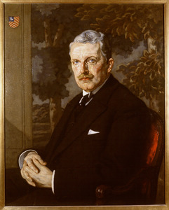 Portret van Jhr. Frederik Teding van Berkhout (1857-1942)