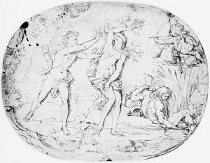 Apollo en Daphne (Metamorphosen 1:452 e.v.)