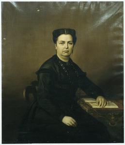 Portret van Jeanette Antoinette Mijer-Pietermaat (1816-1870), echtgenote van gouverneur-generaal Pieter Mijer