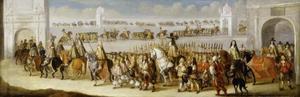 Cavalcade van Charles II door London, 22 april 1661
