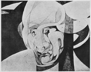 Portret van Ludwig Rubiner